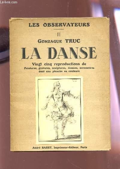 LES OBSERVATEURS / TOME II : GONZAGUE TRUC : LA DANSE  - INCOMPLET  (14 PRMIERES PLANCHES SUR 25).