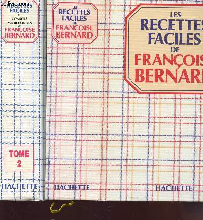 LES RECETTES FACILES + RECETTES FACILES ET CONSEILS MICRO-ONDES ( EN 2 VOLUMES).