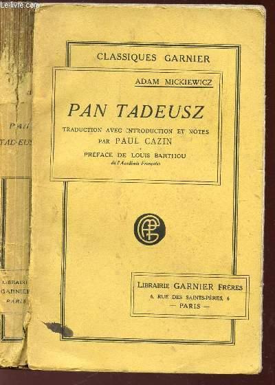 PAN TADEUSZ.