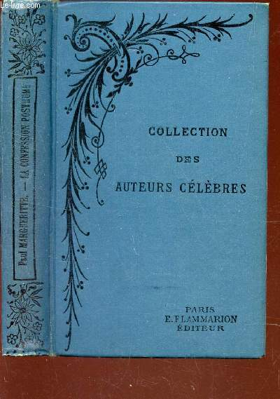 LA CONFESSION POSTHUME / COLLECTION DES AUTEURS CELEBRES.