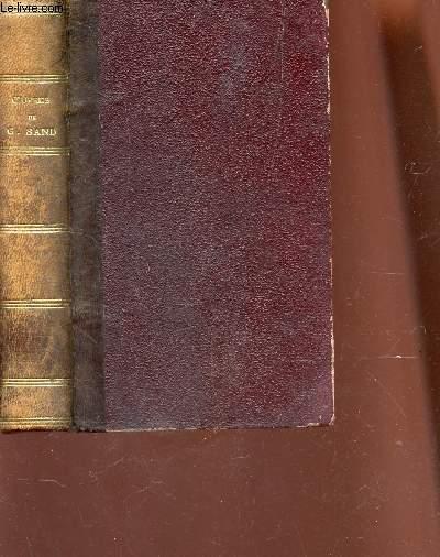 OEUVRES COMPLETES DE GEORGE SAND / LE DERNIER ALDINI - LES MAITRES MOSAISTES / NOUVELLE EDITION.