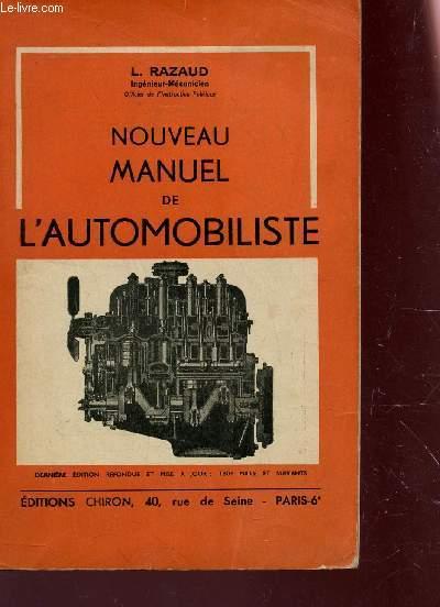 NOUVEAU MANUEL DE L'AUTOMOBILISITE.