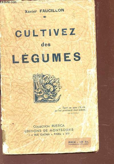 CULTIVEZ DES LEGUMES / COLLECTION