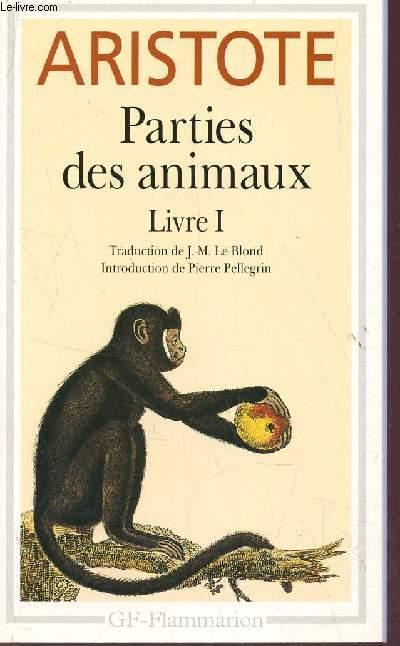 PARTIE DES ANIMAUX - LIVRE I.
