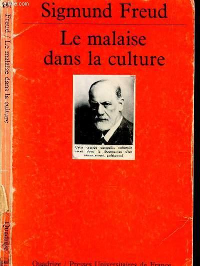 LE MALAISE DANS LA CULTURE /