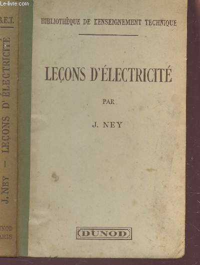 LECONS D'ELECTRICITE / COLLECTION