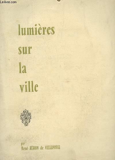 LUMIERES SUR LA VILLE