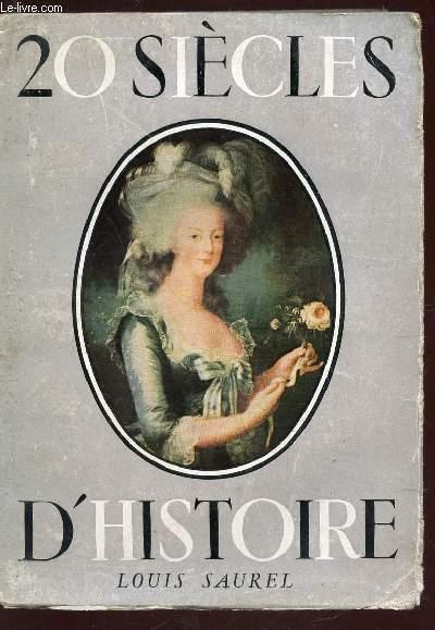 20 SIECLES D'HISTOIRE