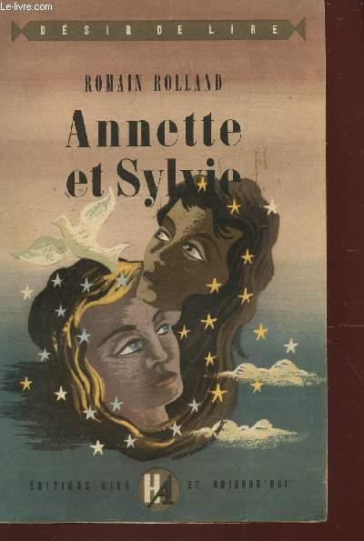 ANNETTE ET SYLVIE / COLLECTION DESIR DE LIRE.