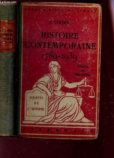 HISTOIRE CONTEMPORAINE APRES 1789 /