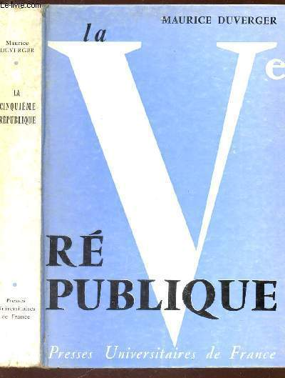 LA Ve REPUBLIQUE / 3e EDITION.