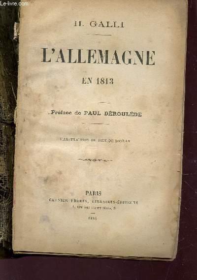 L'ALLEMAGNE EN 1813.