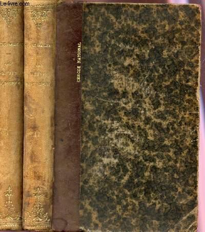 LES BOURGEOIS  - SCENES DE VIE DE CAMPAGNE / en 2 tomes / TOME 1 + TOME 2  / COLLECTION