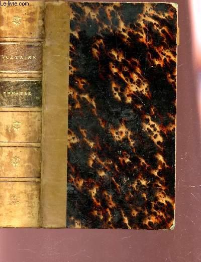 THEATRE DE VOLTAIRE - contenant tous ses chefs-d'oevre dramatiques, nouvelle edition revue d'apres les meilleurs textes.