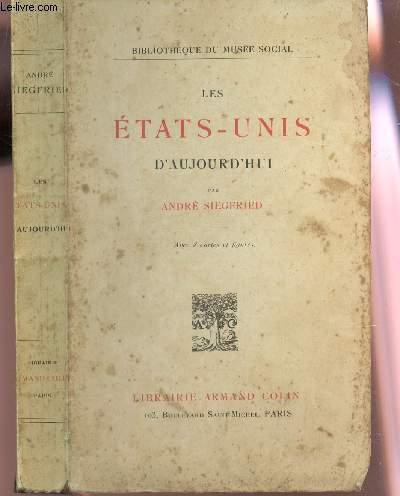 LES ETATS-UNIS D'AUJOURD'HUI / BIBLIOTHEQIE DU MUSEE SOCIAL / 14e EDITION.