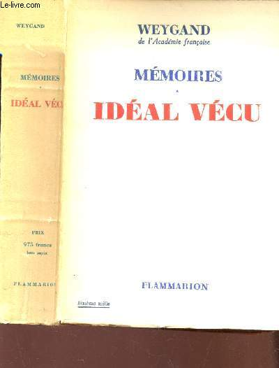 MEMOIRES IDEAL VECU