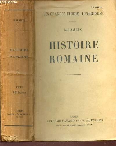 HISTOIRE ROMAINE / collection
