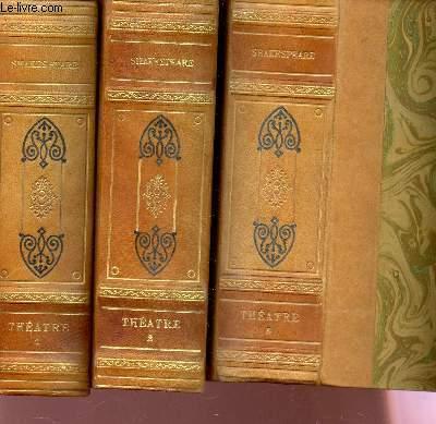 THEATRE COMPLET -  EN 3 VOLUMES /
