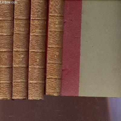 LES CINQ LIVRES DE F. RABELAIS - EN 4 VOLUMES : COMPLET - 4 TOMES.