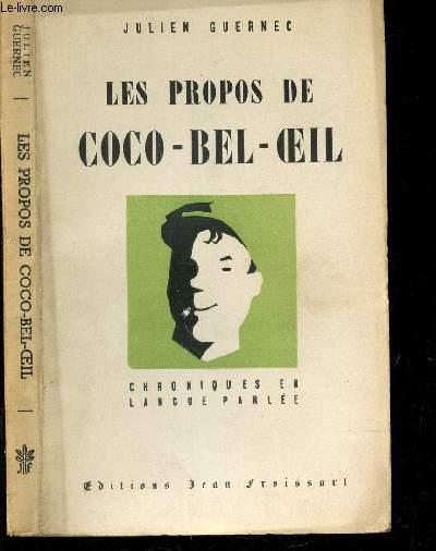 LES PROPOS DE COCO BEL OEIL