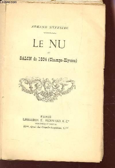 LE NU AU SALON DE 1894 (CHAMPS ELYSEES)