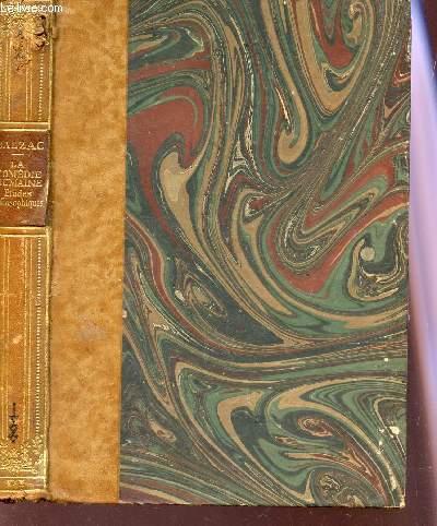 LA COMEDIE HUMAINE - Etudes Philosophiques - TOME IV : Sur Catherine de Médicis - L'Elixir de longue vie.
