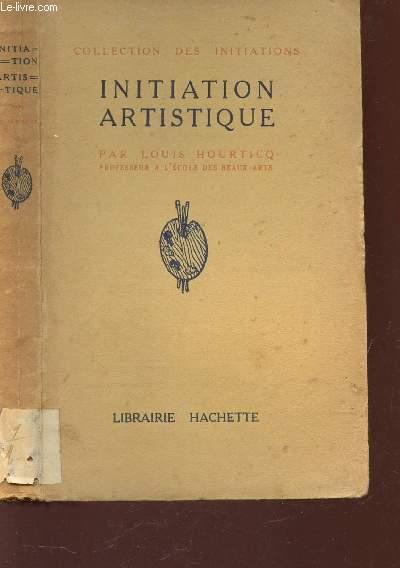 INITIATION ARTISTIQUE -