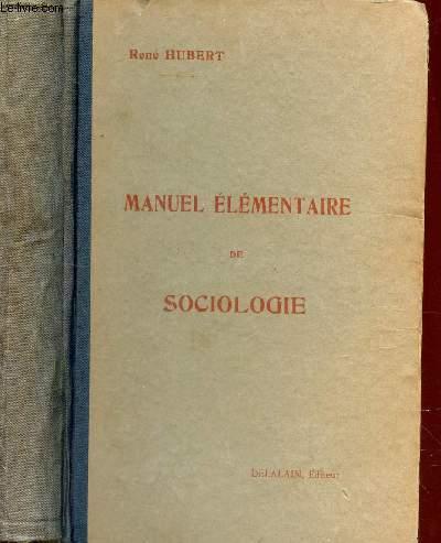 MANUEL ELEMENTAIRE DE SOCIOLOGIE -