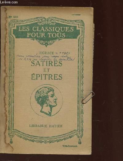 SATIRES ET EPITRES / N°156 DE LA COLLECTION