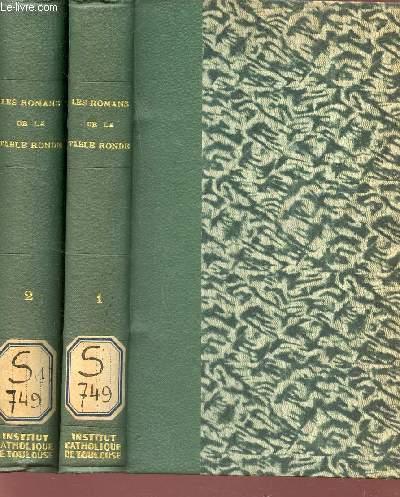 LES ROMANS DE LA TABLE RONDE mis en nouveau langage et accompagnes de recherches sur l'origine et le caractere de ces grandes compositions  - EN 2 VOLUMES : TOME PREMIER + ROME DEUXIEME.