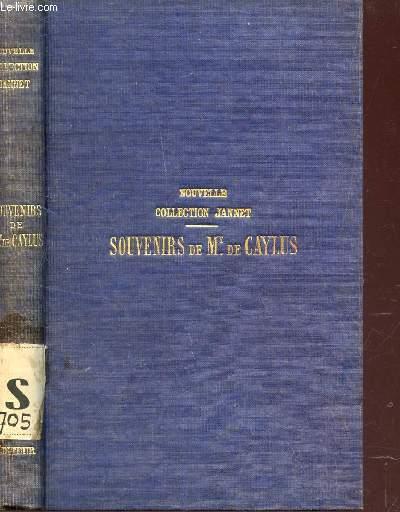 SOUVENIRS DE LA MARQUISE DE CAYLUS / / NOUVELLE COLLECTION JANNET - contenant la préface et les notes de Voltaire par M. DE LESCURE  / NOUVELLE EDITION