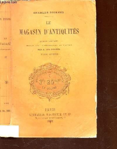 LE MAGASIN D'ANTIQUITES - TOME SECOND / ROMAN ANGLAIS.