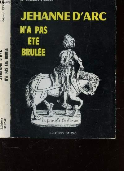 JEHANNE D'ARC N'A PAS ETE BRULEE / 5e EDITION