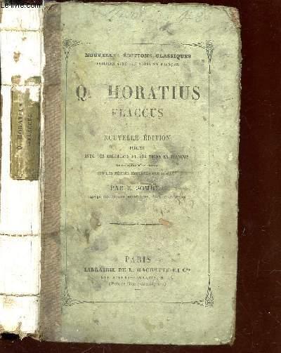 Q. HORATIUS FLACCUS / NOUVELLE EDITION.