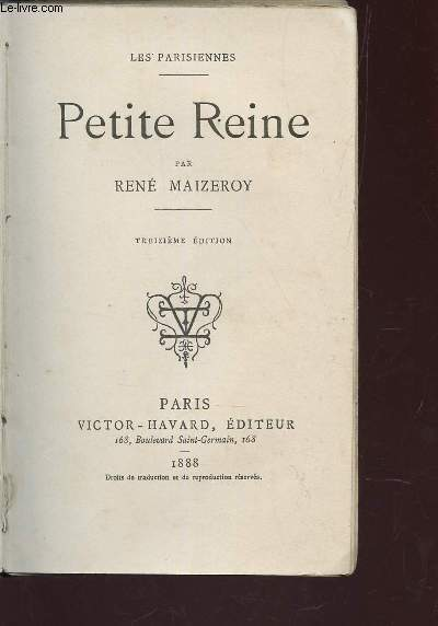 PETITE REINE / (LES PARISIENNES) / 13e EDITION