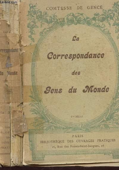 LA CORRESPONDANCE DES GNS DU MONDE