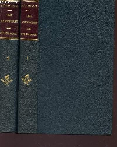 LES AVENTURES DE TELEMAQUE, FILS D'ULYSSE - EN 2 VOLUMES  : TOME I + TOME II / NOUVELLE EDITION.
