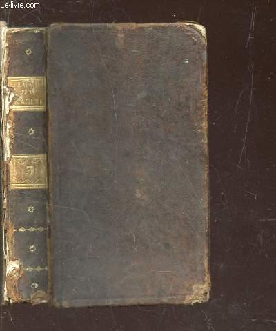 OEUVRES DE JEAN RACINE - TOME TROISIEME : Iphigénie - Phedre - Esther - Athalie.