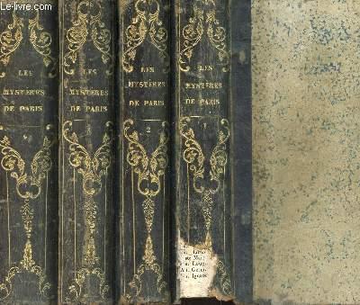 LES MYSTERES DE PARIS - EN 4 VOLUMES - DU TOME 1 AU TOME 4 / COMPLET.