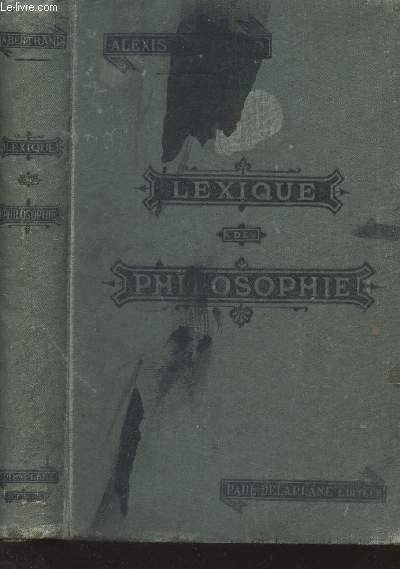 LEWIQUE DE PHILOSOPHIE