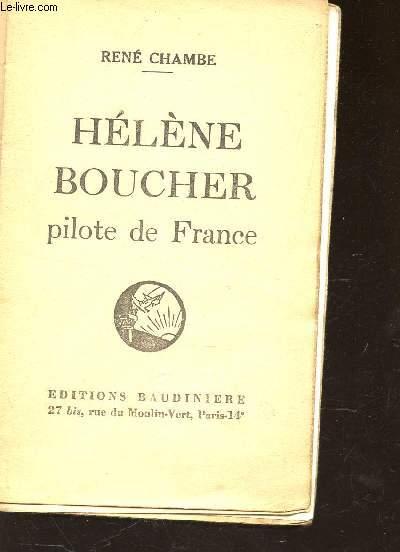 HELENE BOUCHER, PILOTE DE FRANCE.