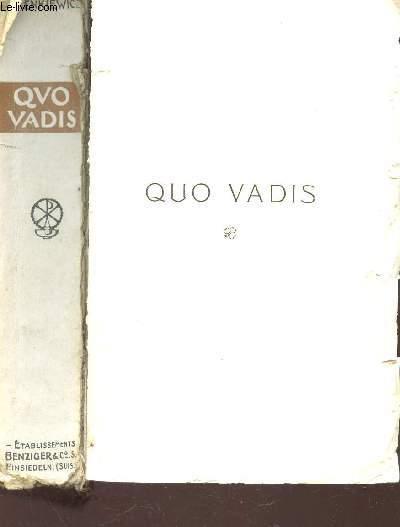 QUA VADIS (INCOMPLET).