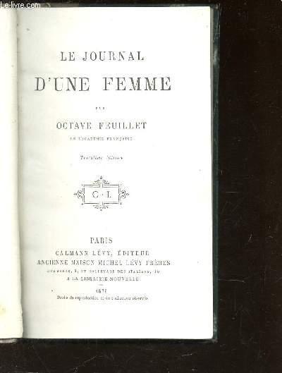 LE JOURNAL D'UNE FEMME / 3e EDITION.