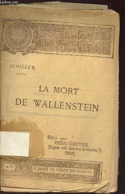 LA MORT DE WELLENSTEIN - PIECE DE THEATRE - (N°479 de