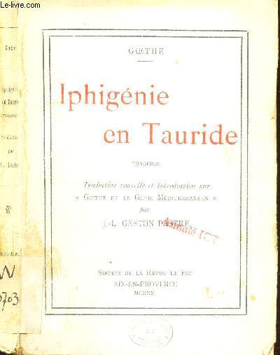 IPHIGENIE EN TAURIDE - TRAGEDIE.