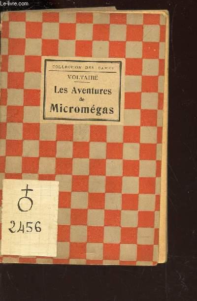 LES AVENTURES DE MICROMEGAS / HISTOIRE DES VOYAGES DE SCARMENTADO / COLLECTION  DES DAMES.