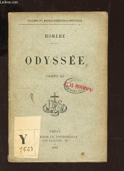 ODYSSEE - CHANT XI