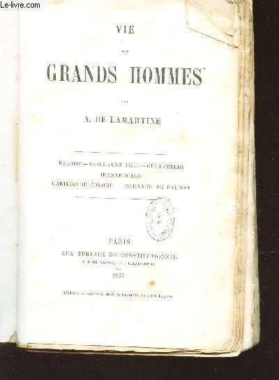 VIE DES GRANDS HOMMES -