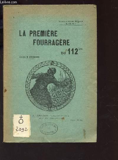 LA FOURRAGERE JAUNE ET VERTE DU 112eme -