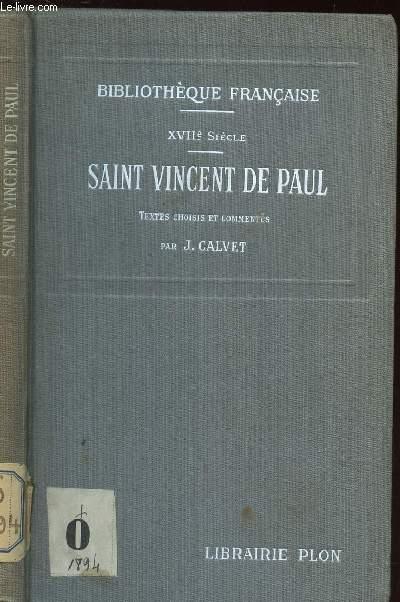 SAINT VINCENT DE PAUL / WVIIe SIECLE / COLLECTYION